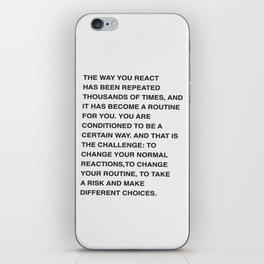 React iPhone Skin