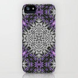 Purple Tribal iPhone Case