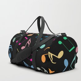 Music Colorful Notes II Duffle Bag