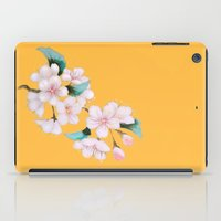 sakura iPad Cases featuring Sakura by Priscilla Moore
