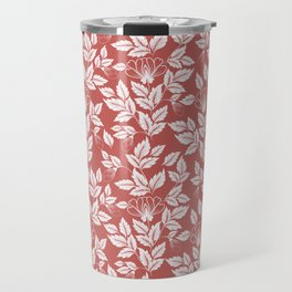 Leaves Pattern 9 Travel Mug
