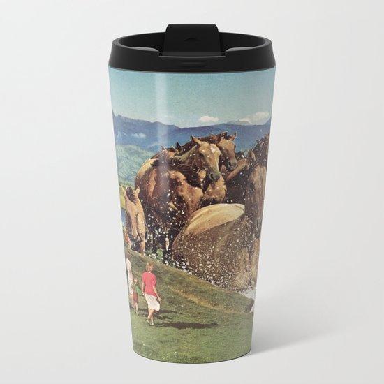 Stampede Metal Travel Mug