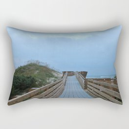 Dreary Days and Getaways Rectangular Pillow