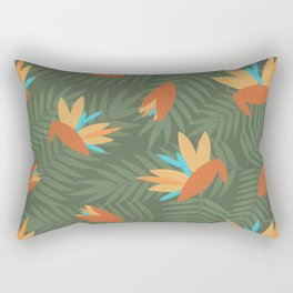 Birds of Paradise Hawaiian Shirt Pattern Rectangular Pillow