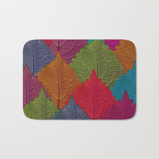 Leaves Forest Bath Mat