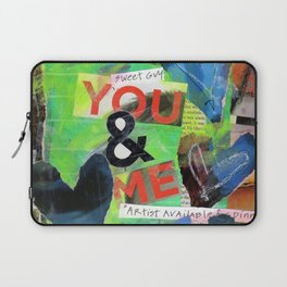 You & Me Laptop Sleeve