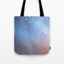 Frozen Blue Tote Bag