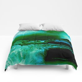 Agate Geode Abstract Comforters