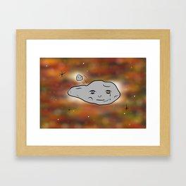 1998 QED Framed Art Print