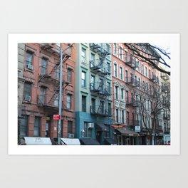 St. Marks Place East Village Apartments Art Print