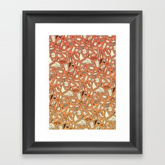 Filthy Lunch Dance Party Framed Art Print