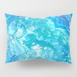 Aqua Ocean Blue Pillow Sham
