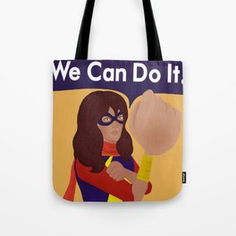 Kamala Khan Can Do It! Tote Bag