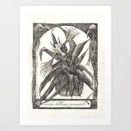 cervidae billbergia pyramidalis Art Print