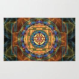The Sri Yantra - Sacred Geometry Rug