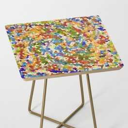 Colorful Tile Mosaic Side Table