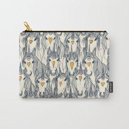 unicorn love indigo citrus pearl Carry-All Pouch