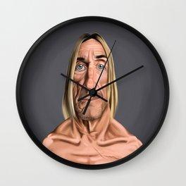 Celebrity Sunday ~ Iggy Pop Wall Clock