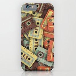 Audio cassettes iPhone Case