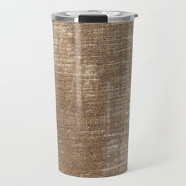 Cement Weathered Brown Abstract Photograph Travel Mug