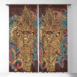 Elephant Blackout Curtain