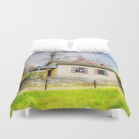 whisky Duvet Covers featuring The Quart House by ThePhotoGuyDarren