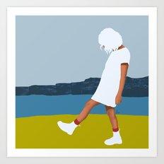 White days Art Print