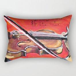 Homage to the Violin Rectangular Pillow