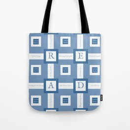 Read A Leenie B Book (blue) Tote Bag