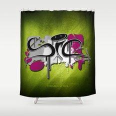 sic Shower Curtain