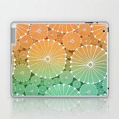 Abstract Floral Circles 7 Laptop & iPad Skin