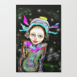 spacegirl Canvas Print