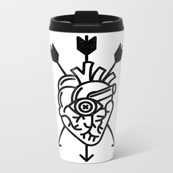 DEAD HEART Metal Travel Mug