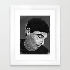 Stanley B&W Framed Art Print