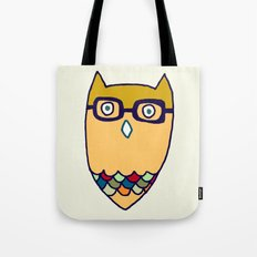 Owl hipster Tote Bag