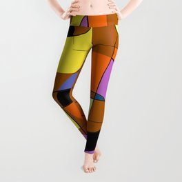 Abstract #937 Leggings