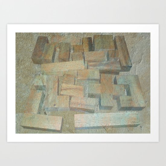 Mosaik 1.1 Art Print