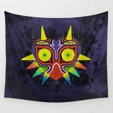 Majora's Mask Splatter Wall Tapestry