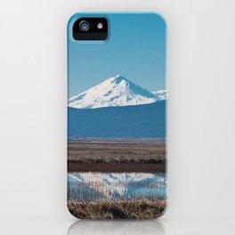 Mt Shasta Reflection iPhone Case