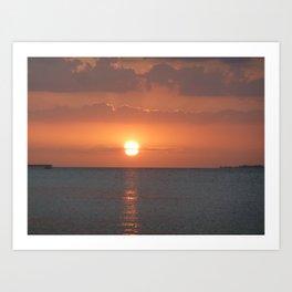 Bokeelia Sunset Art Print