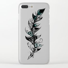 Poetic Feather Clear iPhone Case