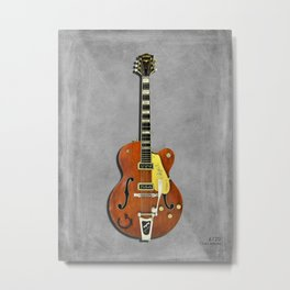 Gretch 6120 Chet Atkins Guitar Metal Print