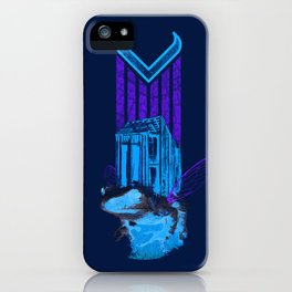 FLYING COTTAGE CROAKER iPhone Case