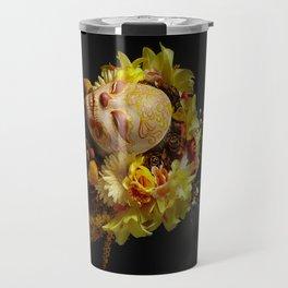 Golden Harvest Muertita Travel Mug