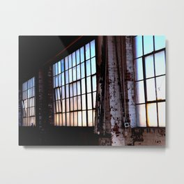 Tulsa Windows Series #2 Metal Print