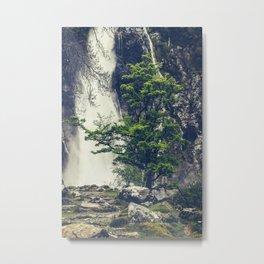 Aber Falls, Wales Metal Print