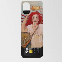 Crowning Herself Android Card Case