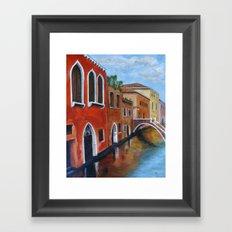 Water Under the Bridge Framed Art Print