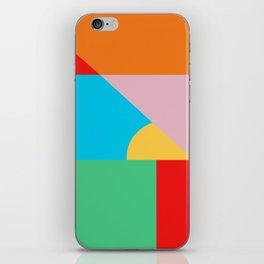 Circle Series - Summer Palette No. 2 iPhone Skin