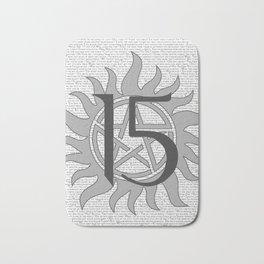 SPN Print (Grey) Bath Mat